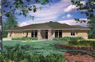 House Plans Design Modern Rear