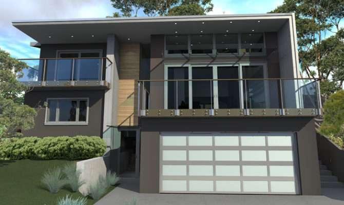 House Plans Design Modern Split Level
