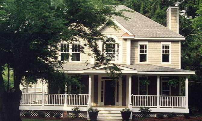 House Plans Design Two Story Porches