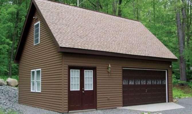 House Plans Detached Garage Floor