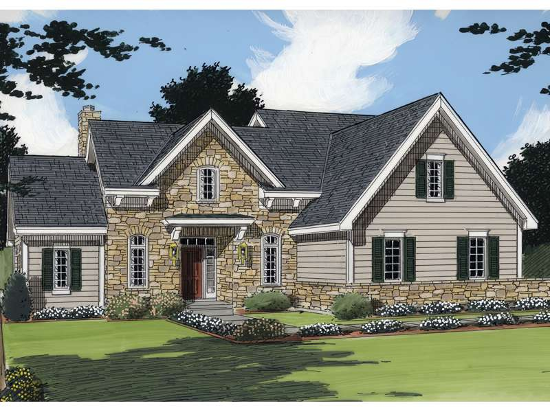House Plans European Traditional More