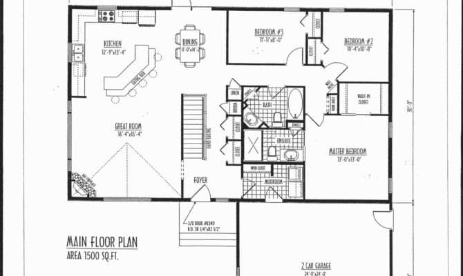 House Plans Fine Floor