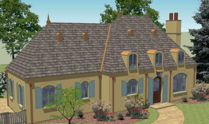 House Plans French Cottage Home Design Style
