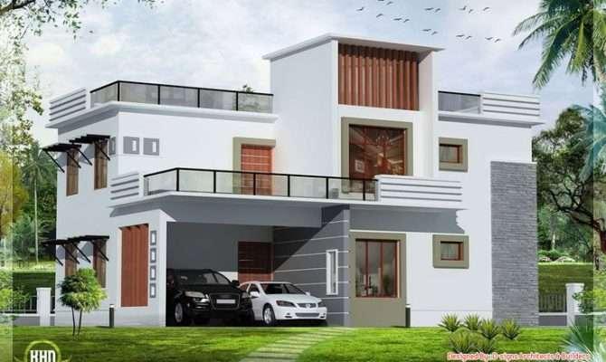 House Plans Great Modern Homes Pinterest Flat Roof Home Design