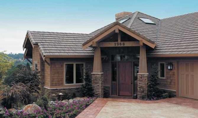 House Plans Hillside Walkout Home Design Style