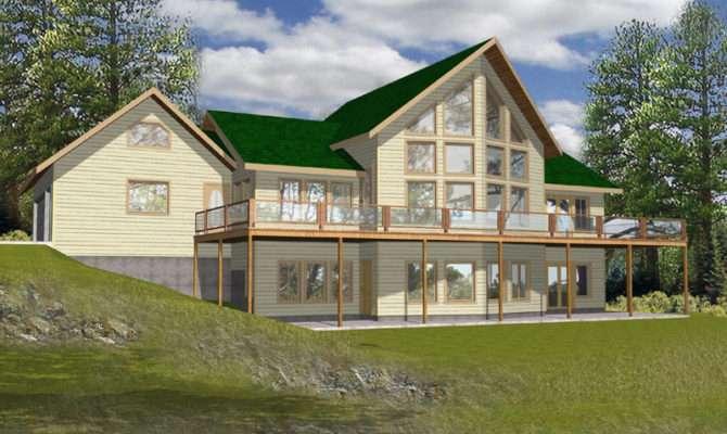 House Plans Lake Modern Waterfront