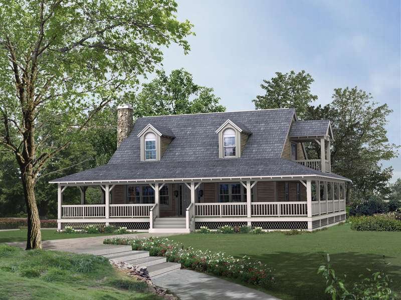 House Plans Lowcountry Rustic Home More