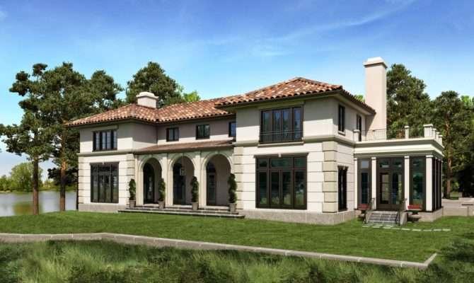 House Plans Mediterranean Style Homes
