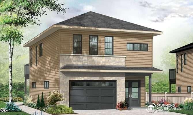House Plans Modern Decor Narrow Lot