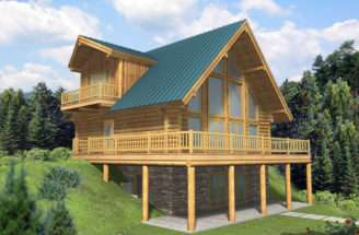 House Plans Modern Mountain Home Rustic