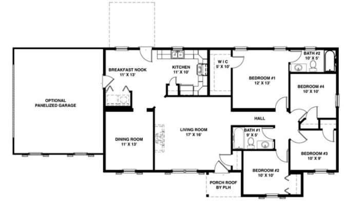 House Plans One Floor Home Deco