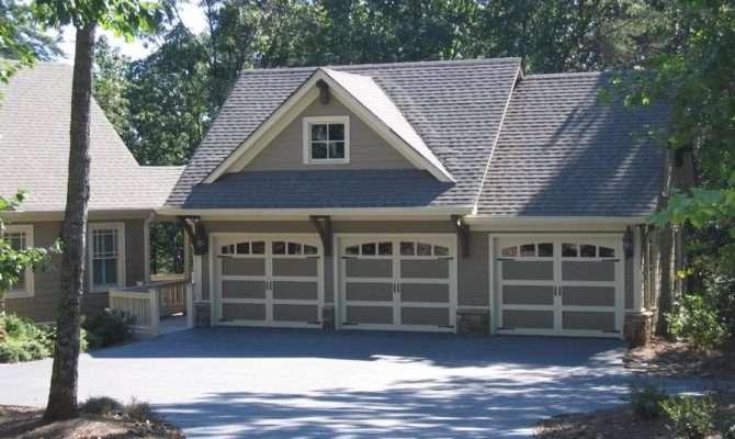 House Plans Photos Detached Garage
