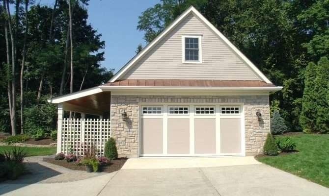 House Plans Porch Detached Garage