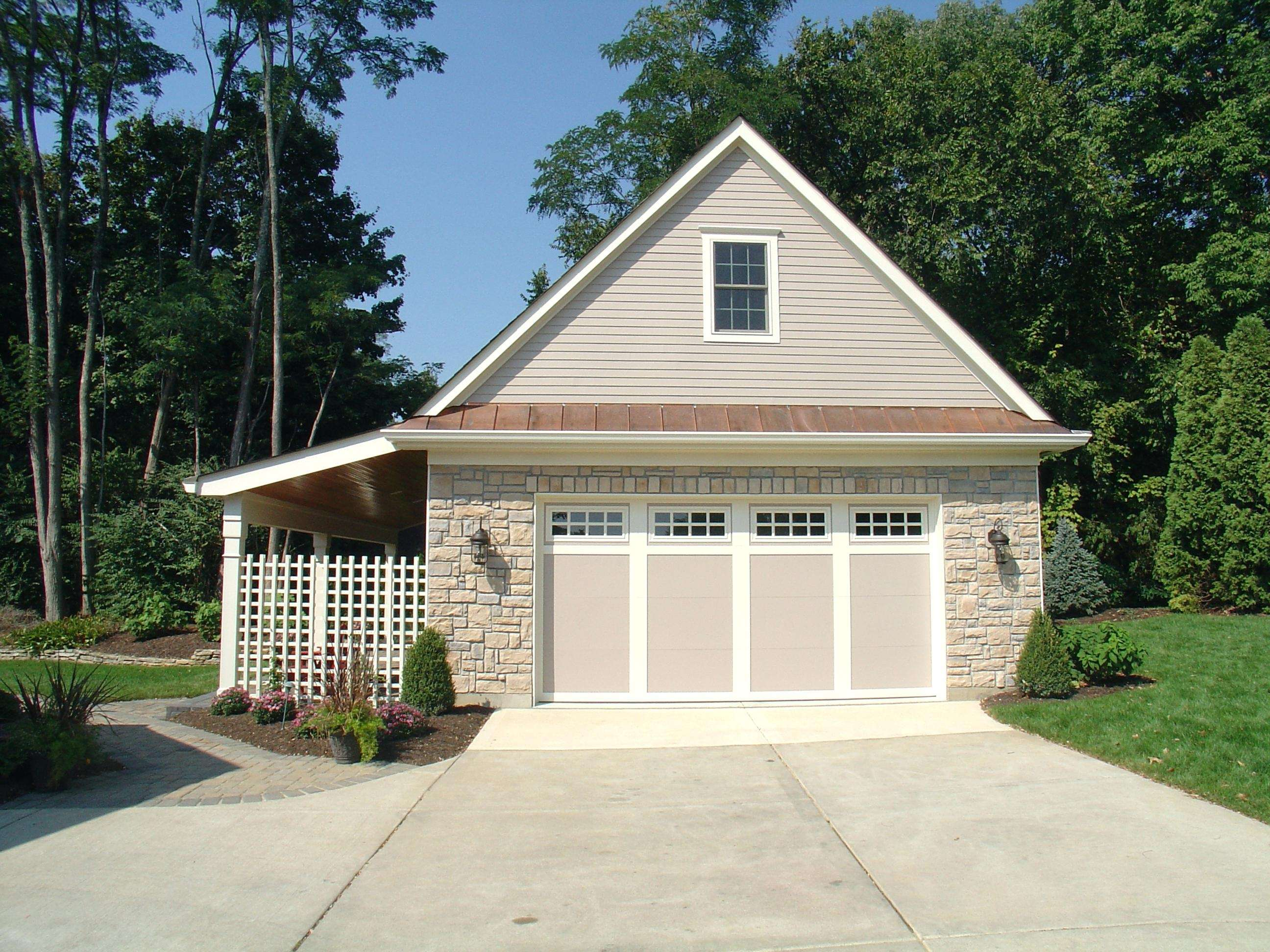 House Plans Porch Detached Garage