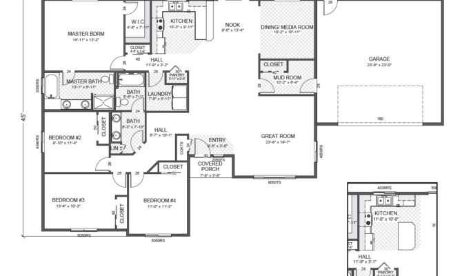 House Plans Rambler Smalltowndjs
