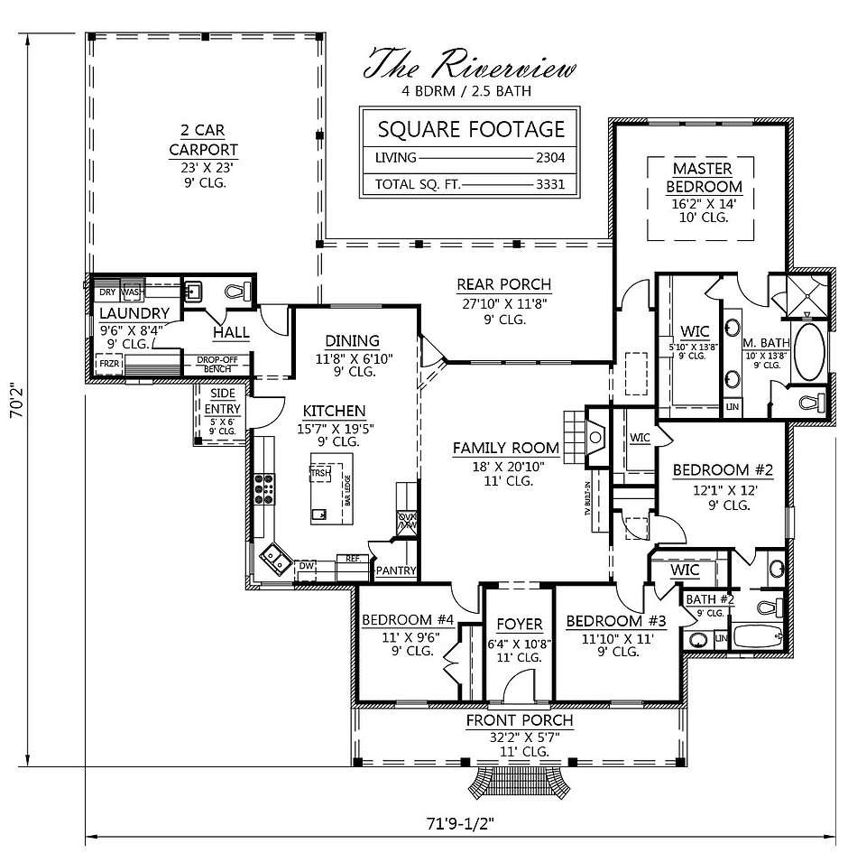 House Plans River Design
