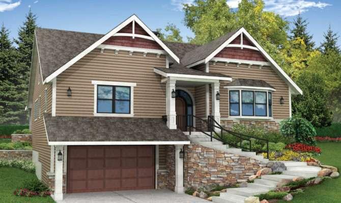 House Plans Sloping Lots Smalltowndjs