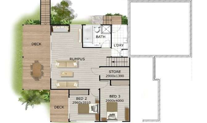 House Plans Sloping Sites Floor