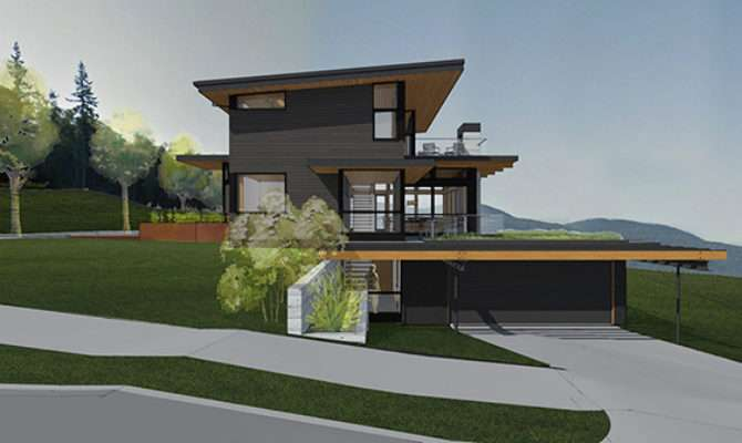 House Plans Steep Slopes Home Design Style