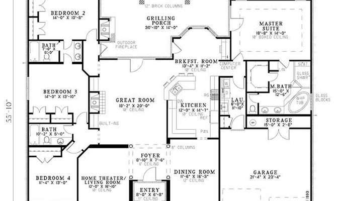 House Plans Story Home Deco