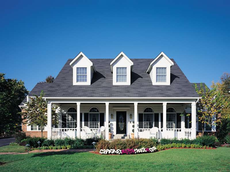 House Plans Traditional Cape Cod New England