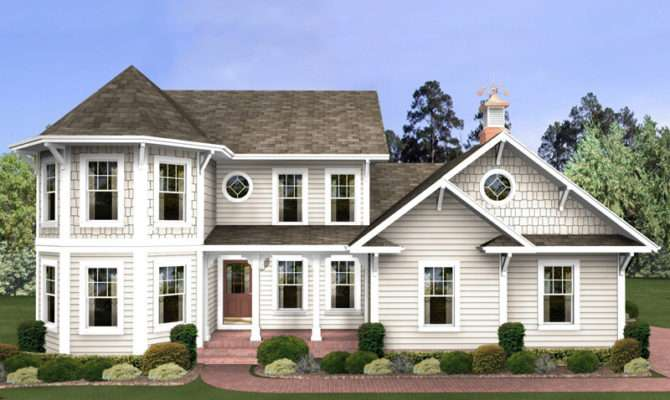 House Plans Traditional Victorian More