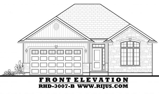 House Plans Two Storey Cottage All Toronto