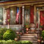House Porch Belvidere Classic American Home
