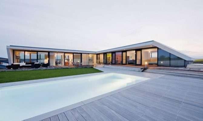 House Single Typical South Austria Shaped