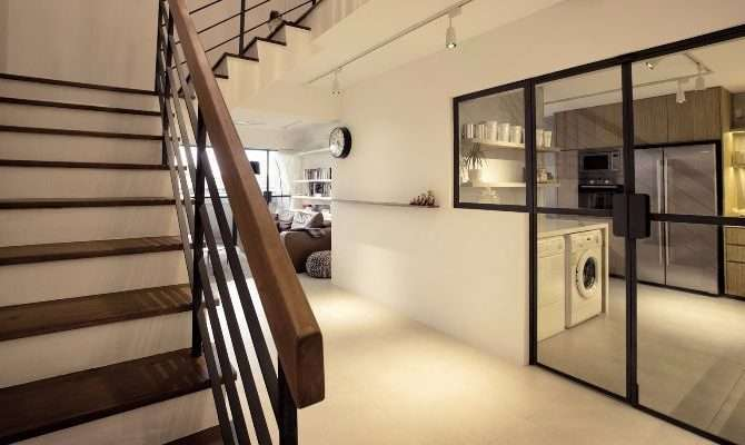 House Tour Young Edgy Contemporary Hdb Maisonette