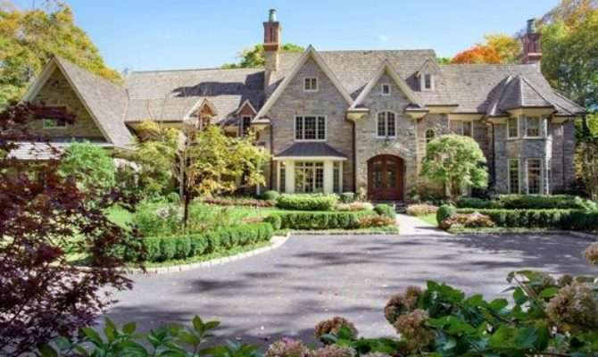 House Week Haverford Stunning Stone Mansion