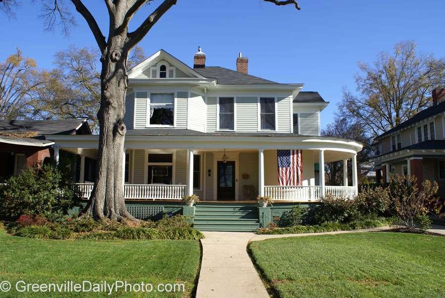 House Wraparound Porch Hampton Pinckney History Preservation