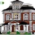 Houses Build Custom Lego House Instructions Victorian Homes
