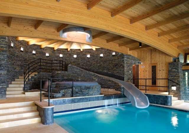 Houses Pools Inside Elegance Dream Home Design