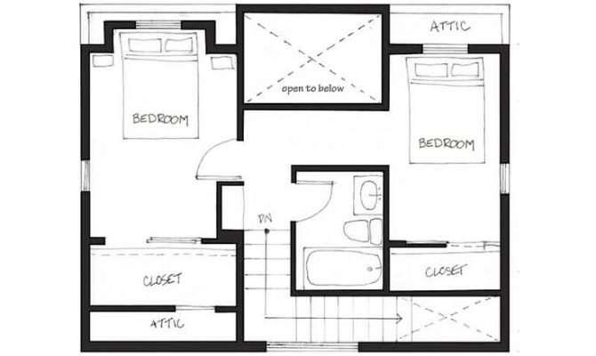 Houses Vancouver Design Floor Plan Georgian Lane House