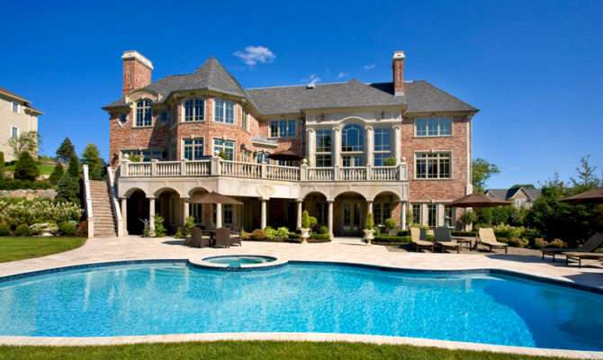Huge Mansion Brown Residence New Jersey Interior Better