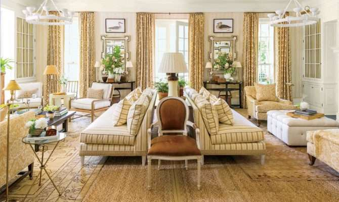 Idea House Living Room Mark Sikes Southern