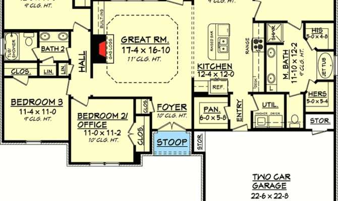 Ideal Floor Plan Architectural Designs House