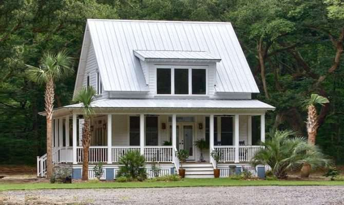 Ideal Little Custom Farmhouse Wrap Around Porch