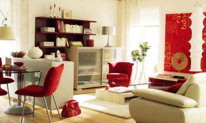 Ideas Common Theme Living Room Dining Area