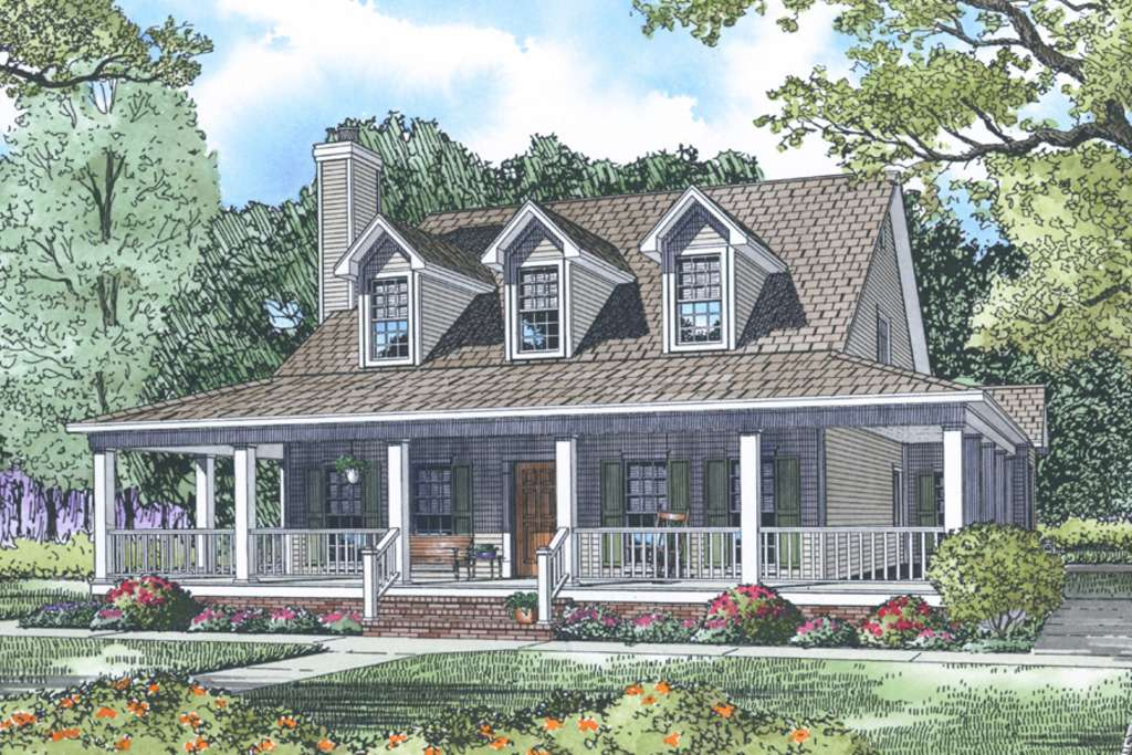 Ideas Country Style House Plans Photos