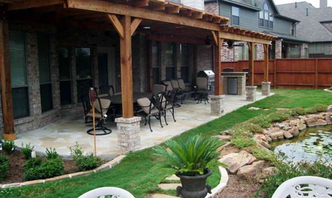 Ideas Covered Patio Designs Plant