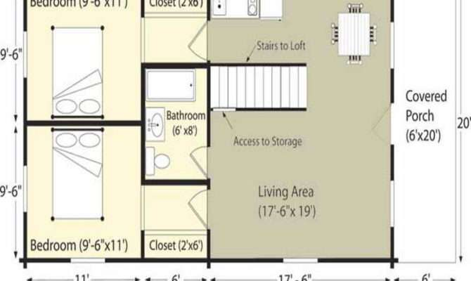 Ideas Log Cabin Floor Plans Project