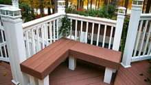 Ideas Modern Deck Bench Plans Built