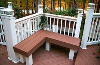 Ideas Modern Deck Bench Plans Built