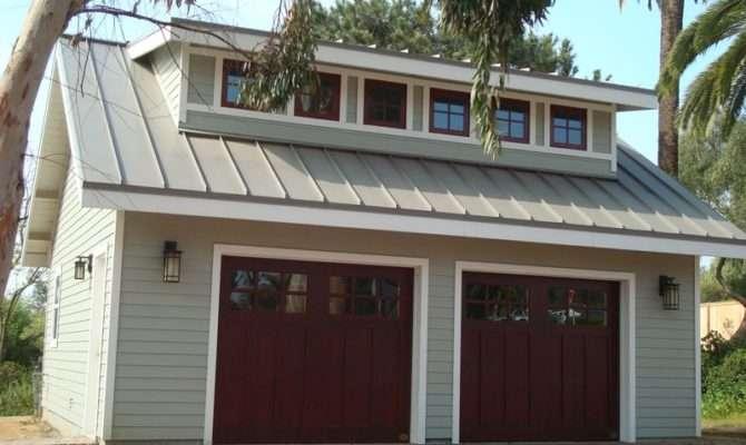 Ideas Red Door Garage Loft Plans