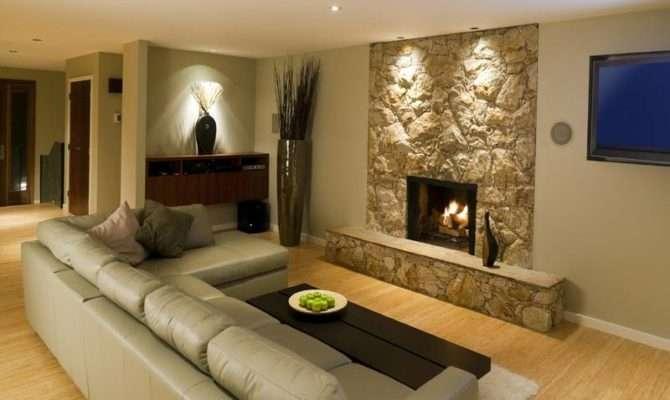 Ideas Small Basement Fireplace