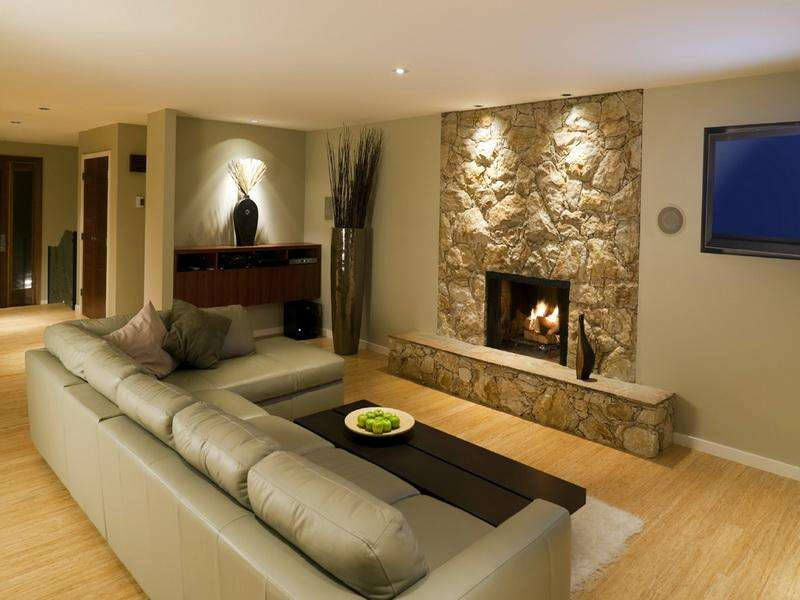 Ideas Small Basement Fireplace