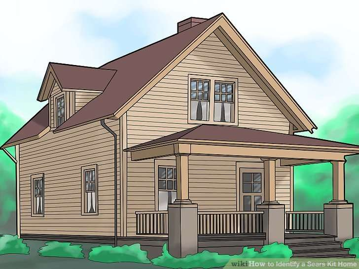 Identify Sears Kit Home Steps