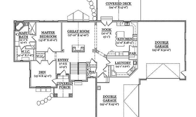 Impressive House Plans Rambler